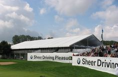 Veranstaltungszelt - VIP Catering Golf #Sportevent #Großzelt #Eventzelte