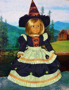 American Girl Doll Halloween  Storybook by CsbsewsDollClothes, $75.00