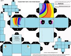 Something to keep you all busy out there. All you need is scissors and glue and make these wonderful paper toys, fantastic for your little ones! Free cubeecraft printouts. (Grown ups are allowed t…