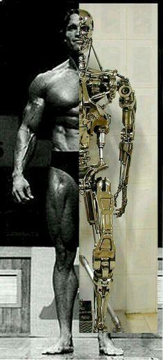 T-800- Arnold Schwarzenegger