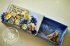 This is a gift card holder I found over on prima.typepad.com. Is this great or what!