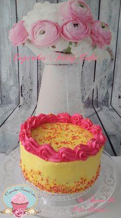 CupcakesFairyCake: Sky High Lemon Rapsberry