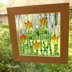 Tulipány v okně ... - obrázek Crafts For Kids, Diy Crafts, Business For Kids, Outdoor Fun, Art Education, Things To Do, Beads, School Stuff, Sticks