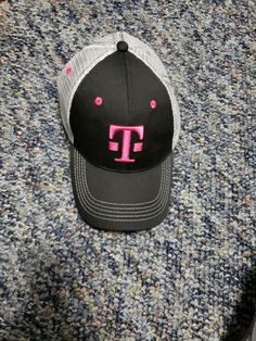 9f48d0be T-Mobile Tuesday Trucker Cap Hat Snapback Black White Pink Promo Adjustable  #fashion #