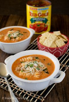 Meatballs with pasta tomato soup recipe