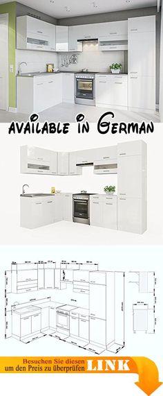 B0056YLNNS  BFK Möbel Collection 32009 Vertiko LUGANO 38 x 85 x - küchenblock 260 cm