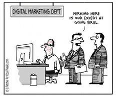 An expert at going viral.. #DigitalMarketing #humor