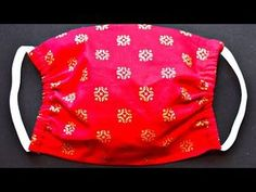 Face Mask Sewing Tutorial - How To Sew A Face Mask - Easy Cloth Face Mask For Beginners - Masti corona - Face Mask Sewing Tutorial – How To Sew A Face Mask – Easy Cloth Face Mask For Biggners - At Home Face Mask, Easy Face Masks, Diy Face Mask, Fabric Crafts, Sewing Crafts, Sewing Projects, Fabric Glue, Sewing Diy, Sewing Hacks