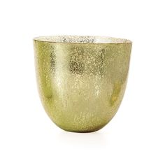 Torre & Tagus, Metallic Lustre Vase in Chartreuse Green, 901677