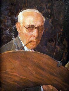 Francisco Pons Arnau (Spanish, 1886-1953) - Self portrait