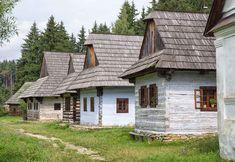 Výzva roka: Idem spoznávať naše najkrajšie slovenské skanzeny | idem – cestovateľský portál Wooden Cottage, Concept Architecture, Royalty Free Images, Cabin, Stock Photos, House Styles, Cottages, Pictures, Group