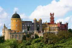 The Fairy Tale ~ Pena Palace, Sintra, Portugal  by elliot23, via Flickr