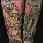 by Kurt Fagerland at Ink & Dagger Tattoo in Atlanta, GA
