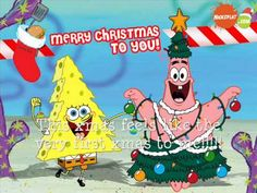"Spongebob's ""Very First Christmas"" song with lyrics (best version!) - YouTube"