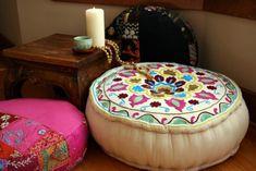 almofadas para meditar