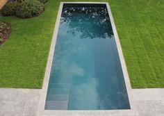 Hybride zwemvijver Bio Pool im garten langer Pool Spa, Garden Swimming Pool, Swiming Pool, Luxury Swimming Pools, Luxury Pools, Dream Pools, Backyard Pool Designs, Swimming Pool Designs, Pool Landscaping