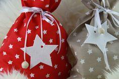 ☆ Nikolaus-Weihnachtssäckchen zum befüllen ☆ von Fadenring & Co auf DaWanda.com