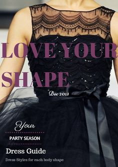 LOVE YOUR SHAPE! We have picked out the best party dresses for each body shape.  See the best dresses for a inverted triangle body shape.  Usually sold for $0.99 we are offering it to your for free through our fashion and style blog.  View our fashion style guide at http://life-styler.com.au/love-your-shape-this-seasons-best-fashion-party-dresses-for-your-body-shape/  #bestdress #partydresses #bestdressforaninvertedtrianglebodyshape #fashion #style #fashionandstyle