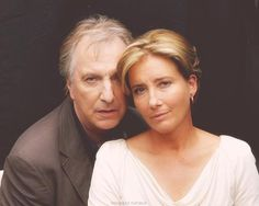 Alan Rickman and Emma Thompson, one of my fave acting duos. I Movie, Movie Stars, Ed O Neill, Alan Rickman Movies, I Look To You, Harry Potter, Emma Thompson, British Actors, Hugh Jackman