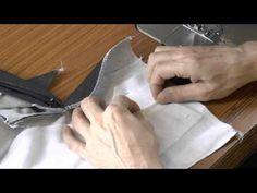 Научиться шить с нуля.Как сшить гульфик в брюках,юбках. - YouTube