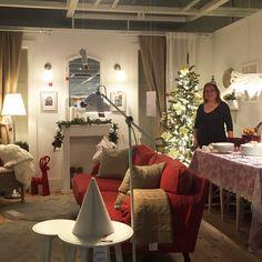 Sala para petiscar (e ansiar pela meia-noite). Por Dicas da Madalena.  #Natal #decoração #bloggers #ikeaportugal