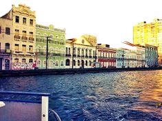 Rio Capibaribe. Recife  Veneza Brasileira!! Recife - Pernambuco - Brasil.