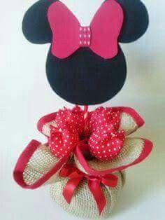 Costalito para dulces Minnie