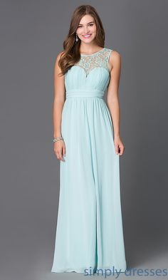 Shop lace pastel floor length sweetheart gowns at SimplyDresses. Long affordable sleeveless prom dresses for wedding receptions or holiday parties.