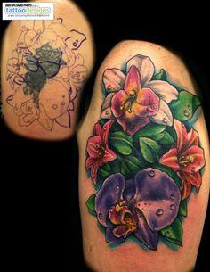 flowers http://tattooingtattoodesigns.com/media/photos/cute/900_flower-tattoo-cover-up-by-jackie-rabbit-by-jackierabbit-j-944246443.jpg