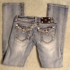 "Miss Me jeans Adorable!!! Inseam is 31"" Miss Me Jeans Straight Leg"