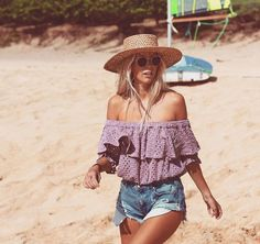 New Looks and Trends. – New York Fashion New Trends Mode Hippie, Mode Boho, Hippie Chic, Vacation Outfits, Summer Outfits, Cute Outfits, Cancun Outfits, Look Fashion, Womens Fashion