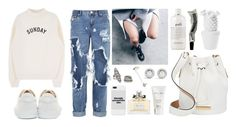 """""""UrbanSundays"""" by inesblamas ❤ liked on Polyvore featuring One Teaspoon, A.P.C., Christian Dior, Forever 21, David Yurman, Marc by Marc Jacobs, philosophy and Aesop"""
