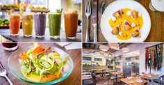 We love eating out as much as the next girl, but jeans that won't do up come Monday are not ideal. Luckily, the healthy food trend is filtering through to the fine dining scene, meaning you can still enjoy the glitz and glamour of top restaurants without piling on the pounds. Check out some of the capital's hottest spots now embracing a leaner menu…Andina, Shoreditch, London