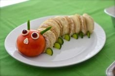 Ideas Baby Boy Shower Food Ideas Very Hungry Caterpillar Baby Shower Snacks, Boy Baby Shower Themes, Baby Shower Cakes, Baby Shower Parties, Baby Boy Shower, Shower Party, Baby Showers, Hungry Caterpillar Party, Food Humor