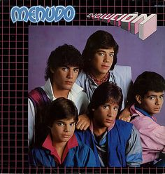 Menudo!! Totally the boy band of my childhood! I now need to listen