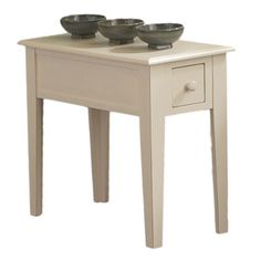 You should see this Eva End Table in White on Daily Sales!
