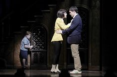Show Photos - Addams Family (bway) - Adam Riegler - Krysta Rodriguez - Wesley Taylor Addams Family Wednesday, Die Addams Family, Adams Family, Addams Family Broadway, Addams Family Costumes, Bebe Neuwirth, Theatre Nerds, Musical Theatre, Originals Cast