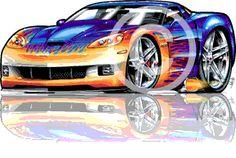 muscle machines cartoons | LOVE ROHAN'S ART !!! in Muscle Machines Forum