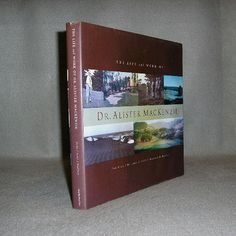 Rare Life And Work Dr. Alister MacKenzie Golf Course Architect/Architecture Book - $247