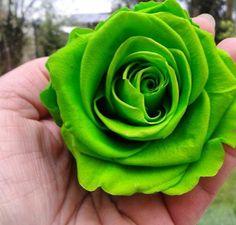 #rose #eternelle #verte #naturelle ne fane pas #cadeau #fetedesmeres #wedding #amour #love  http://www.artifleurs-fleurs-artificielles.com/