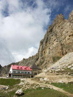 Tierser Alpl Hütte, Rosszähne nahe Schlern, Südtirol