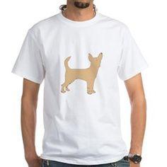 chihuahua fawn silhouette T-Shirt