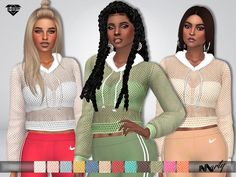 ~Teen to Elder sims Found in TSR Category 'Sims 4 Female Everyday'