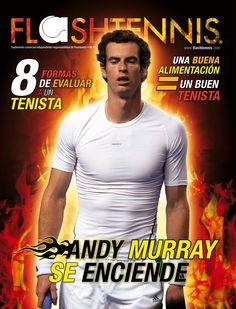 Andy Murray en la portada de Flashtennis No. 11