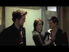 Twilight cast funny outtakes and clips  from talk shows, interviews, etc. 9 minutes