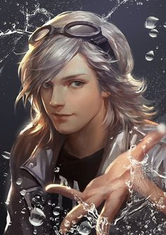 Marvel's mutant speedster Quicksilver from X-Men Days of Future Past, by KDash.