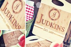 Personalized Two-Tone Cutting Boards 48% OFF