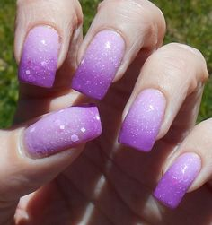 The Beat Goes On 10ml berry, purple, pink thermal glitter nail polish by PromisePolish on Etsy https://www.etsy.com/listing/231570242/the-beat-goes-on-10ml-berry-purple-pink
