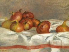 """Still Life With Onions And Tomatoes,"" Pierre-Auguste Renoir, 1912"