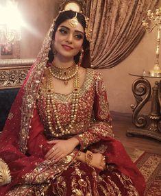 Beautiful red wedding lehnga